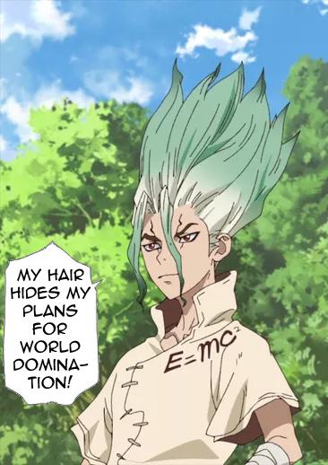 Senku Hair II