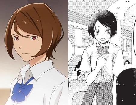 Kyoko Takimoto Anime/Manga Comparison