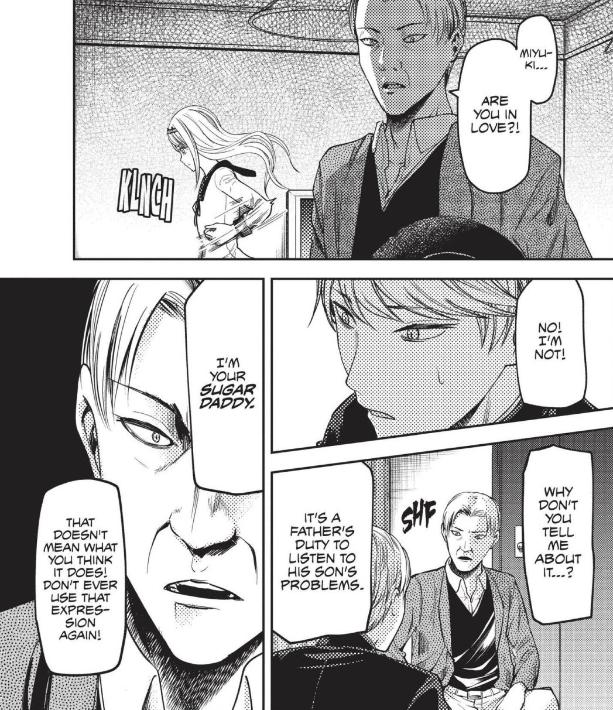 Kaguya-sama Sugar Daddy